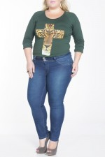 Biotipo Plus Size Jeans for Women (2)