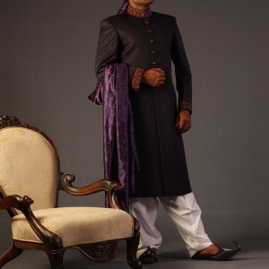 Beautiful Mens Sherwani Collection by JJ 2 300x300 Sherwani Designs for Men Wedding Dress by Junaid Jamshed (JJ) sherwani designs new trends mens corner groom collection  Sherwani New Designs Sherwani Designs for Men Wedding Dress Sherwani by JJ Mens Eastern Wear Men Wedding Dress Junaid Jamshed JJ Groom SHerwani Design Groom Collection