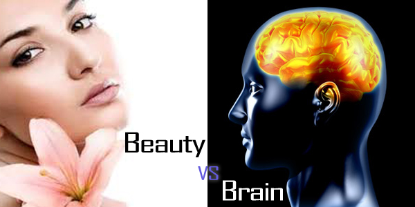 Beauty or Brain - who can rule the world?