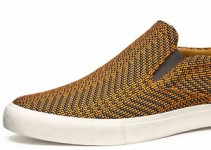 Feature Brown Sneakers Shoes for Jeans and Casual Footwear