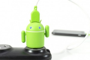 Android Robot Mobile Charger
