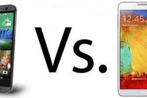 HTC One (M8) vs. Samsung Galaxy Note 3